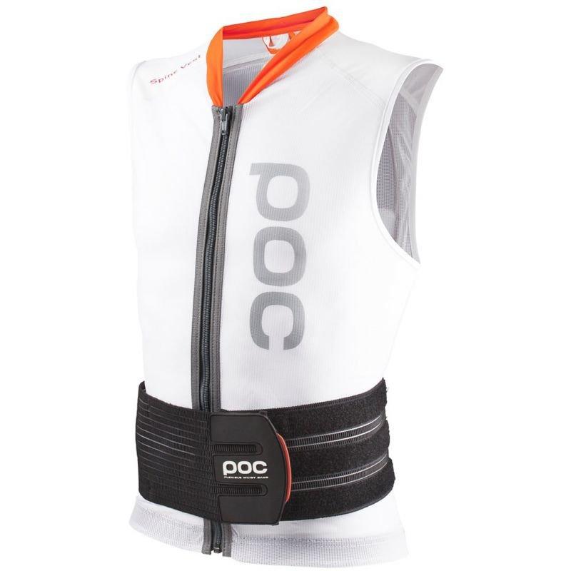 Bílé chrániče na snowboard na záda POC - velikost XS
