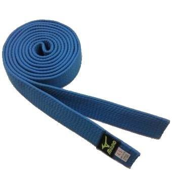 Modrý judo pásek Mizuno
