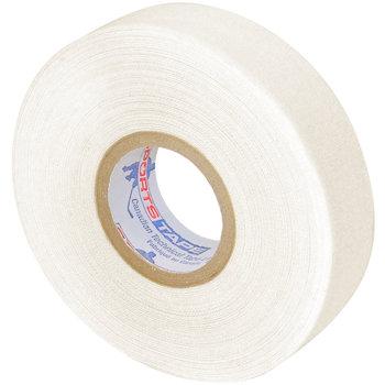 Hokejová omotávka - Textilní páska na hokejku SPORTSTAPE 24 mm x 50 m černá