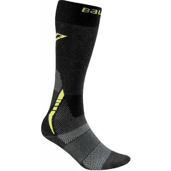 Černo-šedé hokejové ponožky Bauer