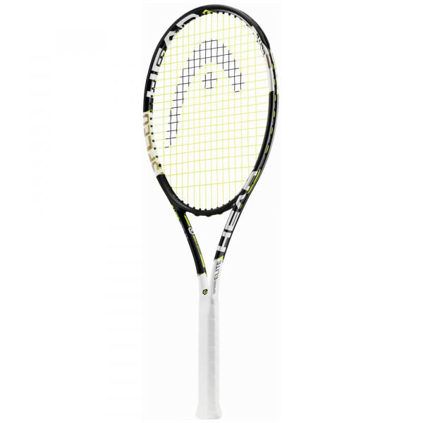 Bílo-černá pánská tenisová raketa Head