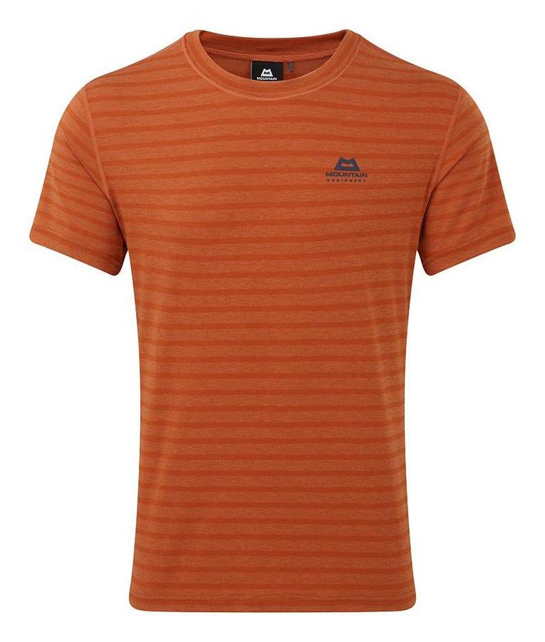 Oranžové pánské turistické tričko s krátkým rukávem Mountain Equipment