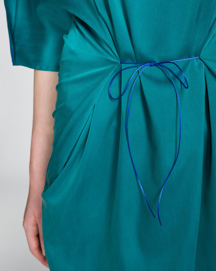 Zelené dámské šaty Jakub Polanka x Bibloo - univerzální velikost
