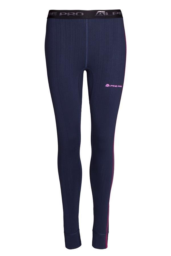 Modré dámské funkční kalhoty Alpine Pro - velikost XS