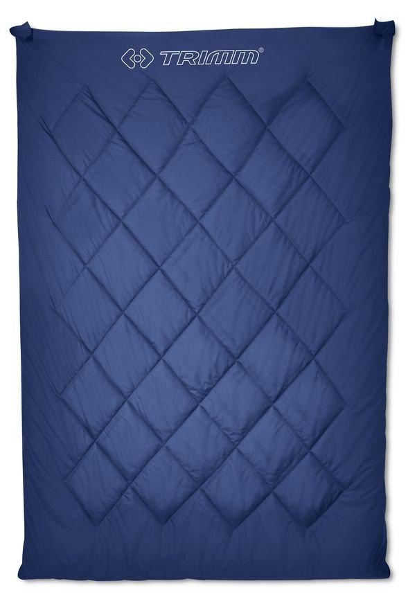 Modrý spací pytel Trimm - délka 195 cm