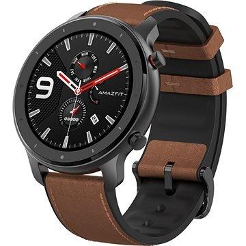 Černo-hnědé chytré hodinky Amazfit GTR Aluminium Alloy., Xiaomi