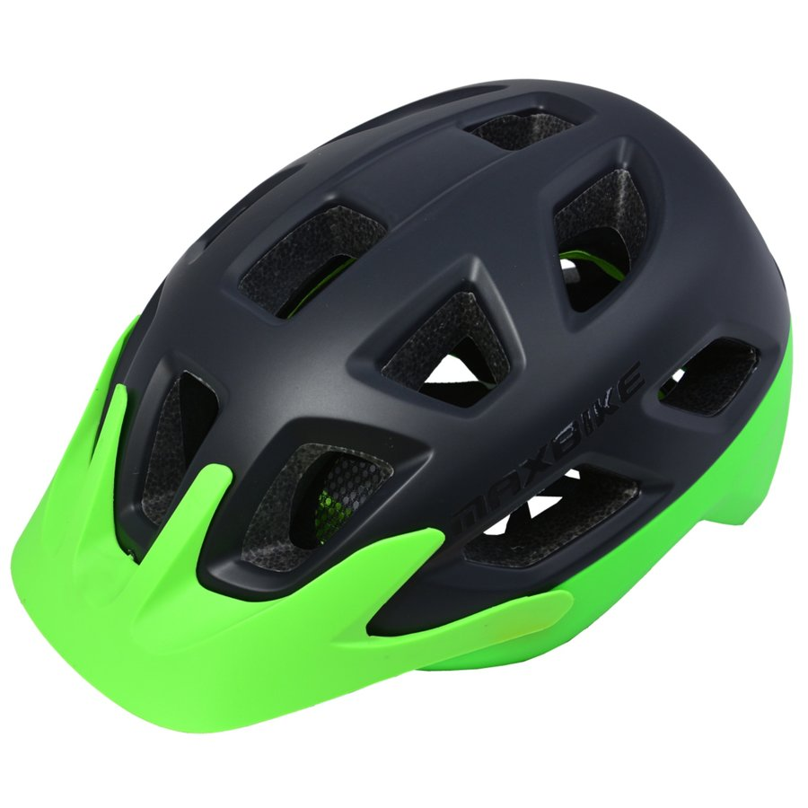 Černá cyklistická helma Maxbike - velikost 58-61 cm