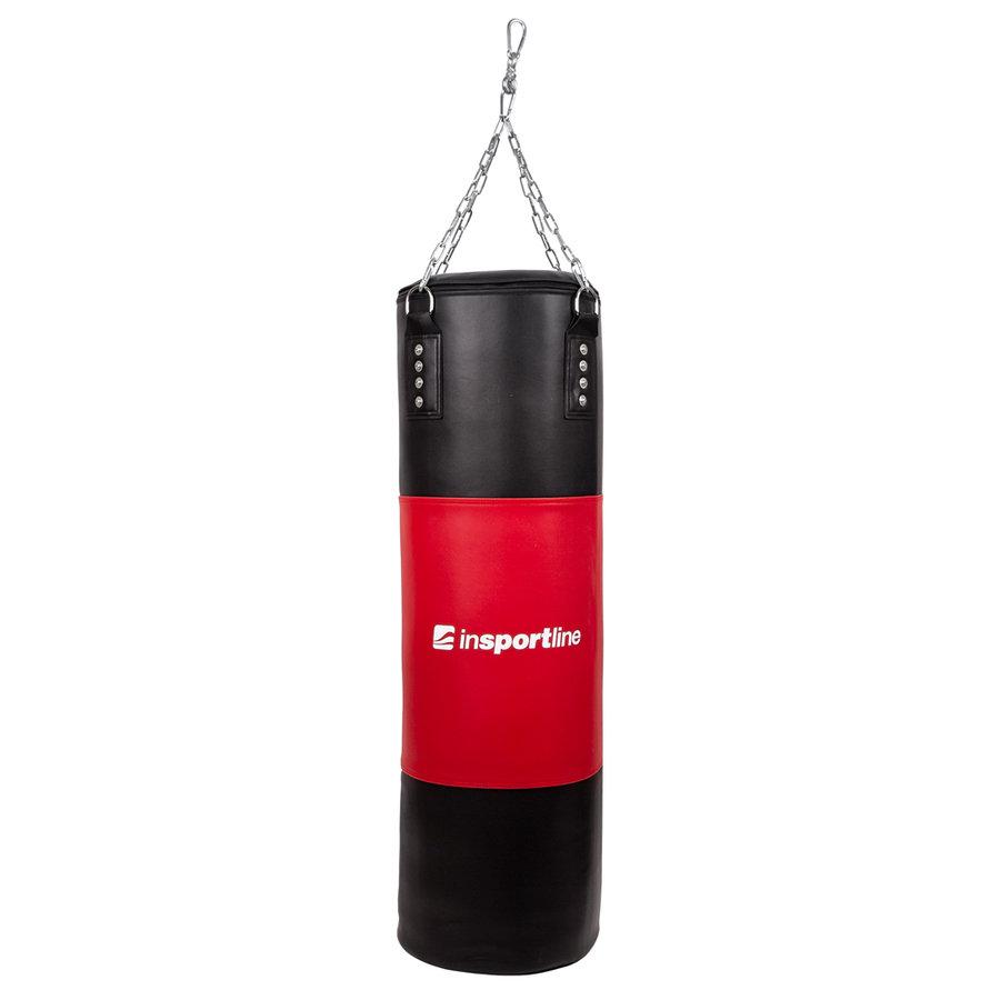 Černo-červený boxovací pytel inSPORTline - 20 kg