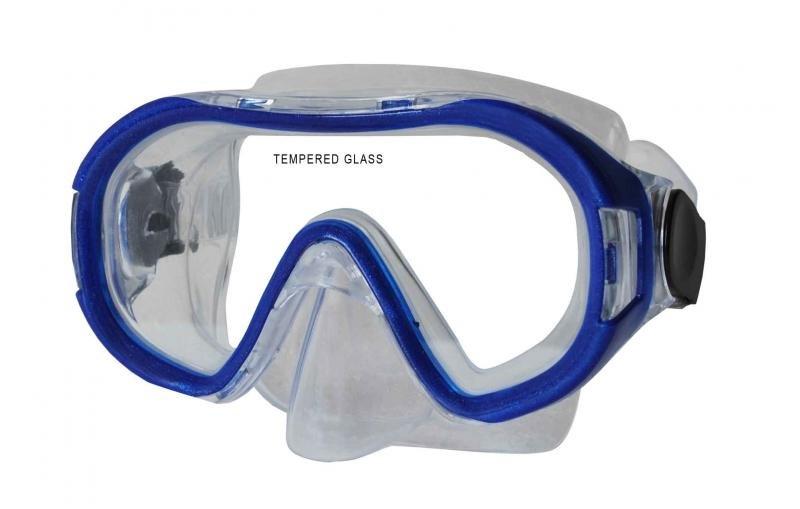 Potápěčská maska - Potápěčská maska CALTER KIDS 168P, modrá