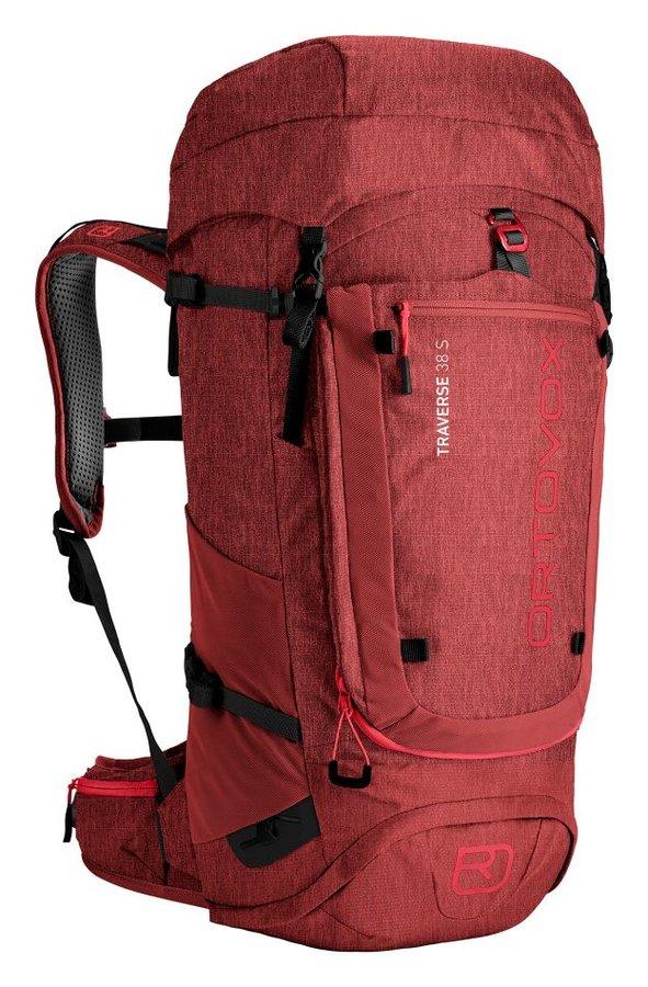 Červený turistický batoh Ortovox - objem 38 l