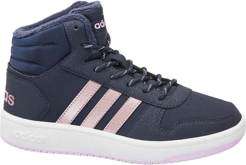 Modré dětské tenisky Adidas - velikost 32 EU