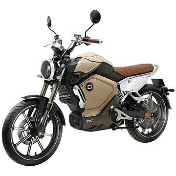 Žlutá elektrická motorka TC, Super SOCO