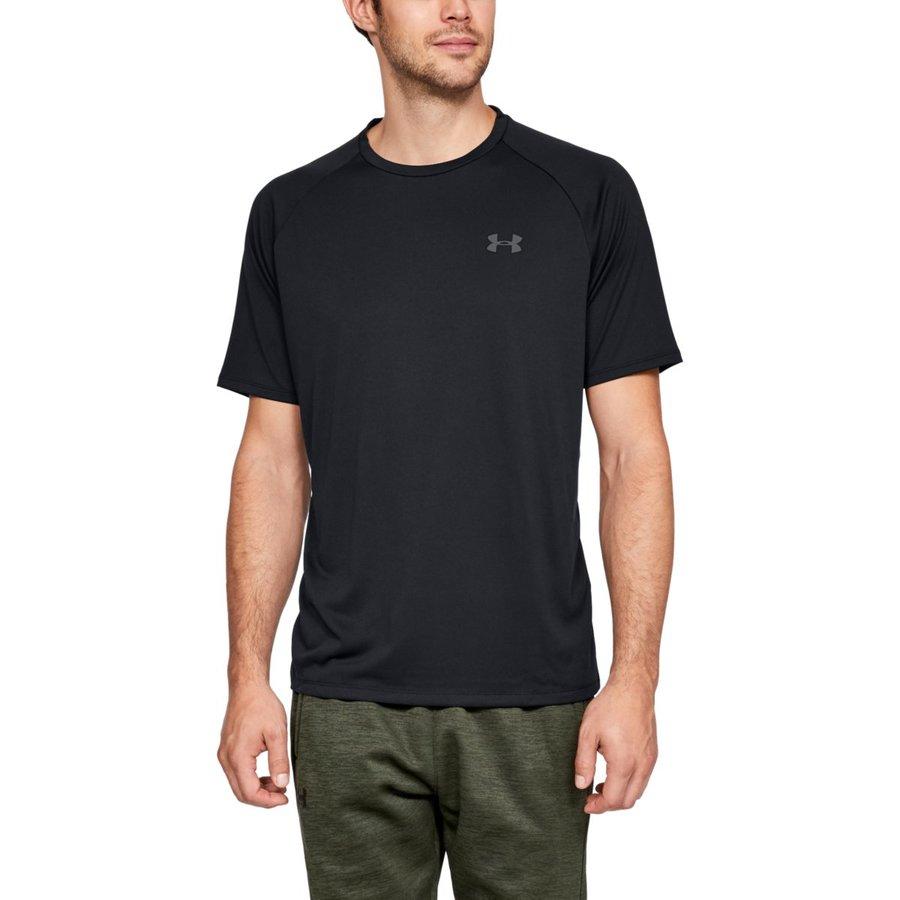 Černé pánské tričko s krátkým rukávem Under Armour - velikost S