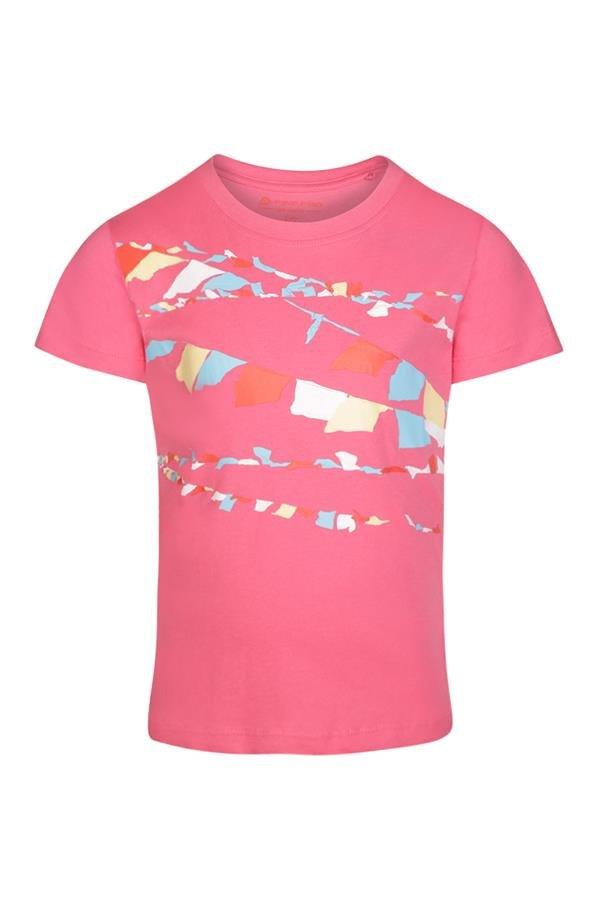 Růžové turistické tričko s krátkým rukávem Alpine Pro
