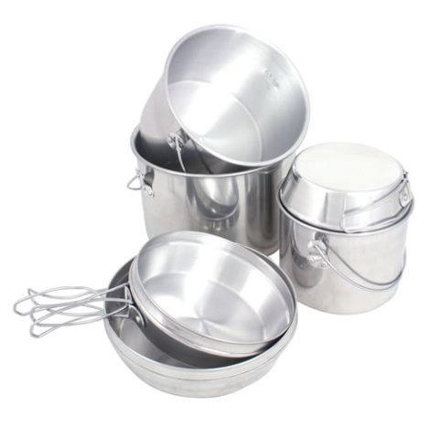 Kempingové nádobí - Nádobí kuchyňské BILLY CAN set 6ks