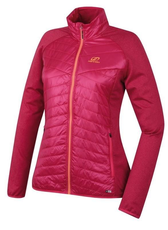 Růžová dámská lyžařská bunda Hannah - velikost 42