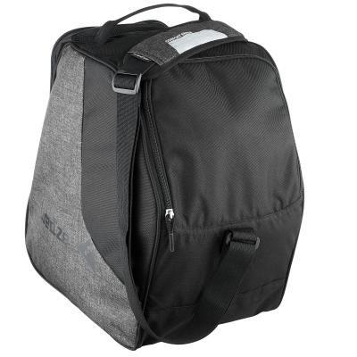 Černo-šedá taška na lyžařské boty pro 1 pár Wed'ze