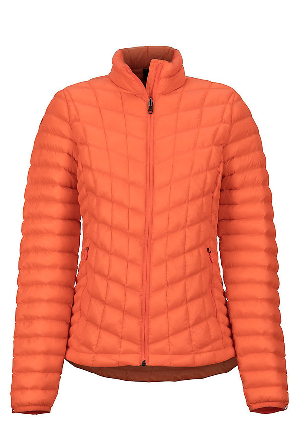 Oranžová dámská bunda Marmot