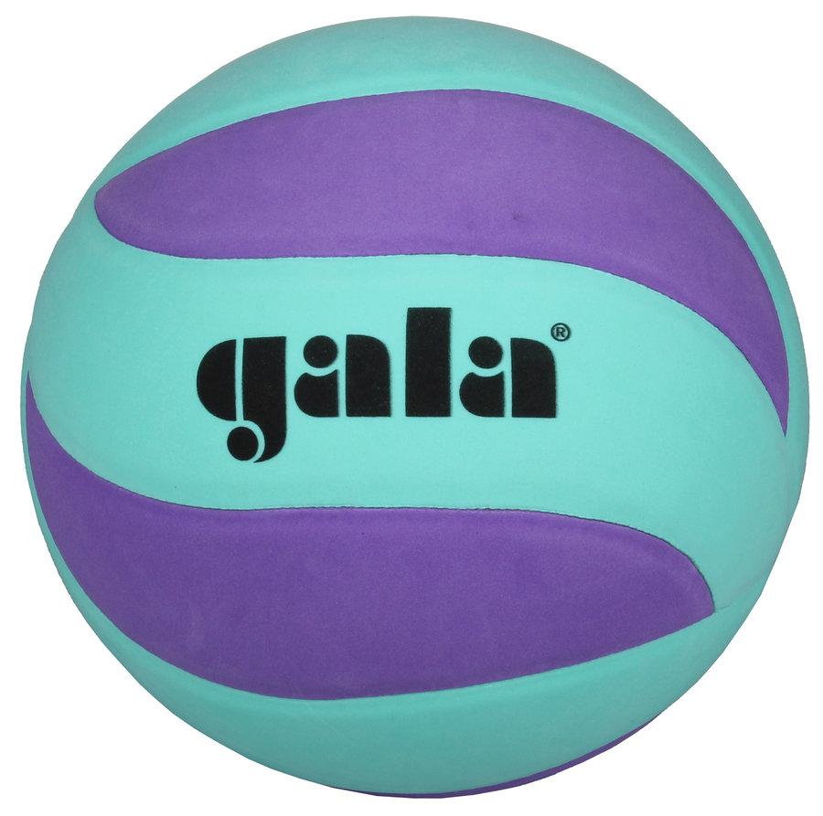 Fialovo-zelený volejbalový míč BV5681S, Gala - velikost 5