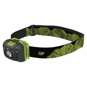 Zelená čelovka GP - dosvit 90 m
