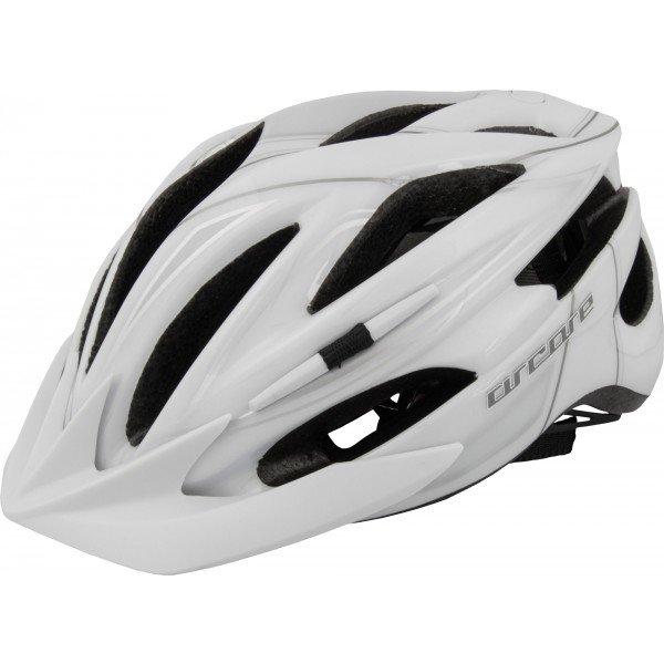 Bílá cyklistická helma Arcore - velikost 50-54 cm