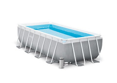 Bazénový set - INTEX Prism Frame Rectangular Pools 4 x 2 x 1m 26788NP
