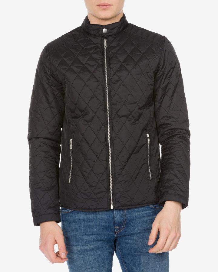 Černá pánská bunda - větrovka Jack & Jones - velikost S