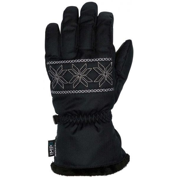 Černé dámské lyžařské rukavice Rossignol - velikost XL