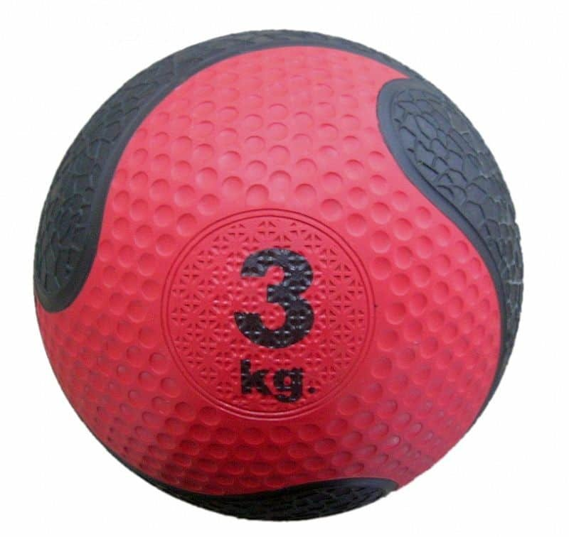 Medicinbal bez úchopů Spartan - 3 kg