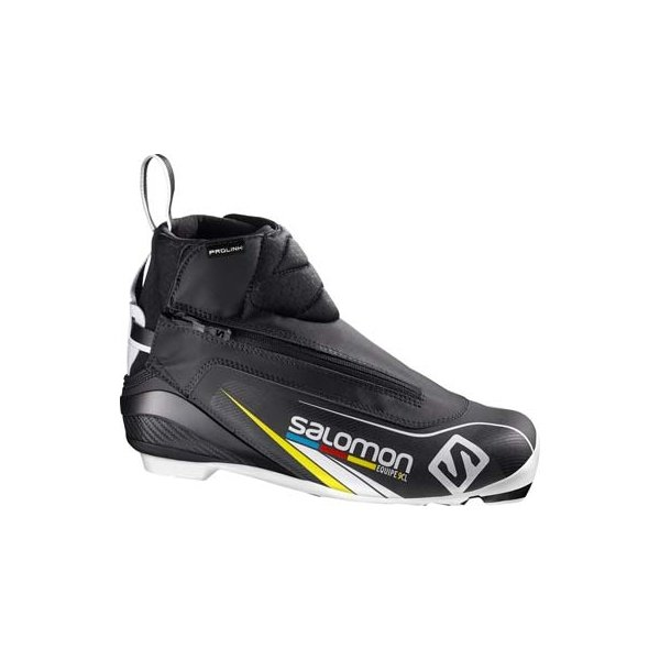 Černé pánské boty na běžky Salomon - velikost 46 EU