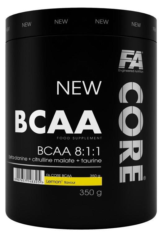 BCAA - BCAA CORE 8: 1: 1 od Fitness Authority 350 g Blackcurrant+Grapefruit