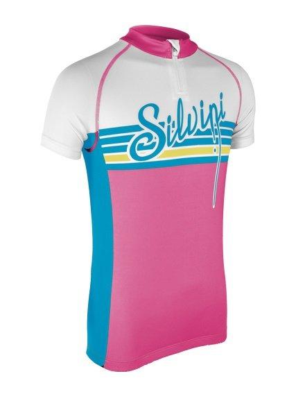 Dětský chlapecký nebo dívčí cyklistický dres Silvini