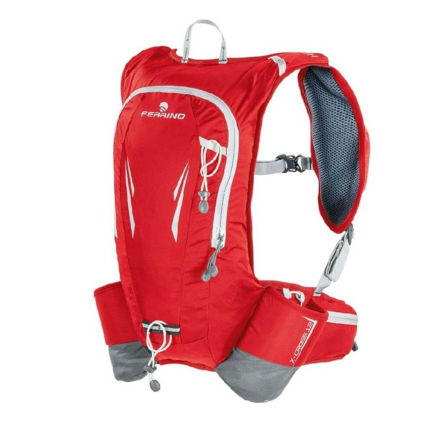 Červený běžecký batoh X-Cross, Ferrino - objem 12 l