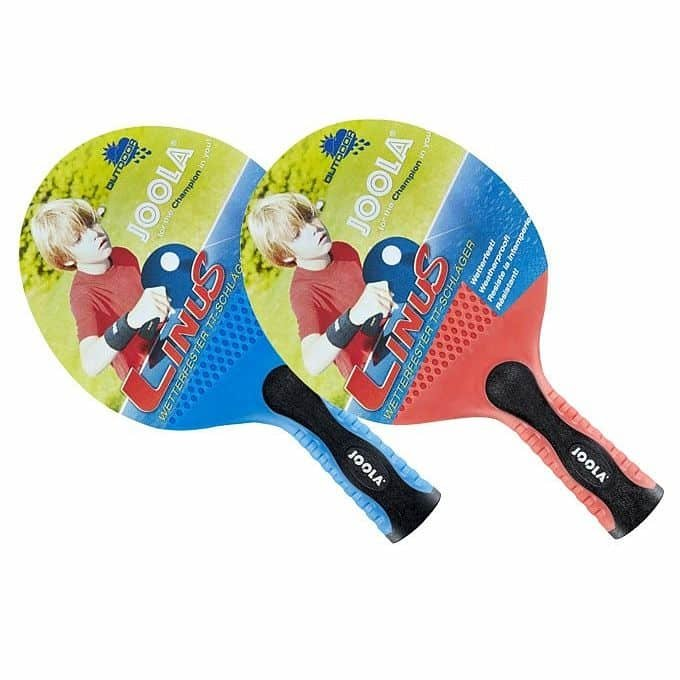 Pálka na stolní tenis - Pingpongová pálka Joola Linus Outdoor Barva modrá