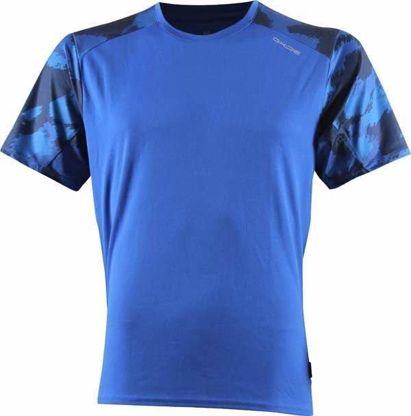 Modré pánské běžecké tričko 2117 of Sweden - velikost L