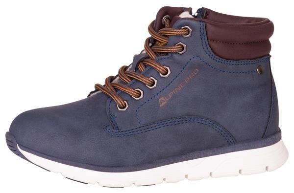 Modré dětské zimní boty Alpine Pro