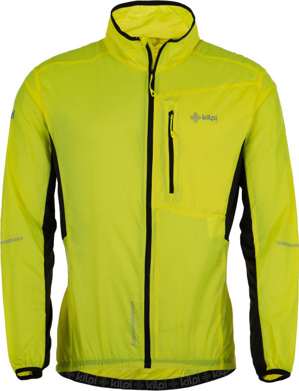 Žlutá pánská cyklistická bunda Kilpi - velikost M