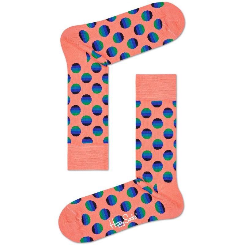 Ponožky - PONOŽKY HAPPY SOCKS SUNRISE DOT - oranžová - 41/46