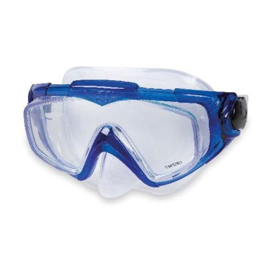 Potápěčská maska - Potápěčské brýle INTEX Aqua Pro Silicon - modré