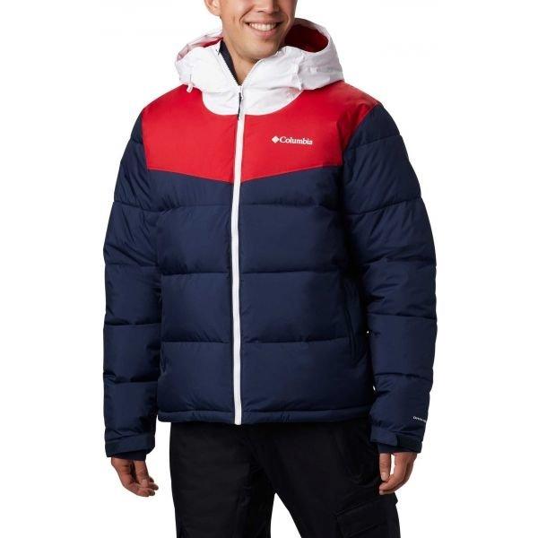 Červeno-modrá pánská lyžařská bunda Columbia