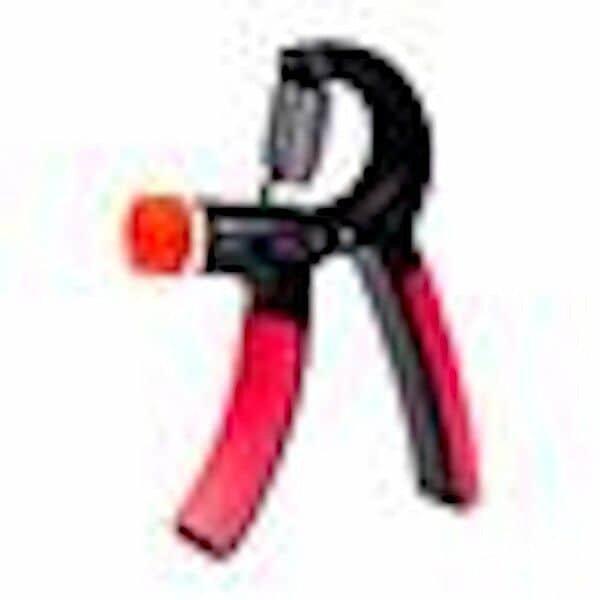 Černo-růžový pružinový posilovač nastavitelný One Fitness - 2 ks