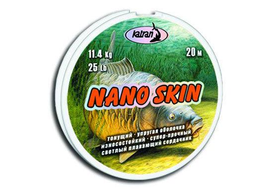 Návazcová šňůra - Katran návazcová šňůrka Nano Skin 15lb
