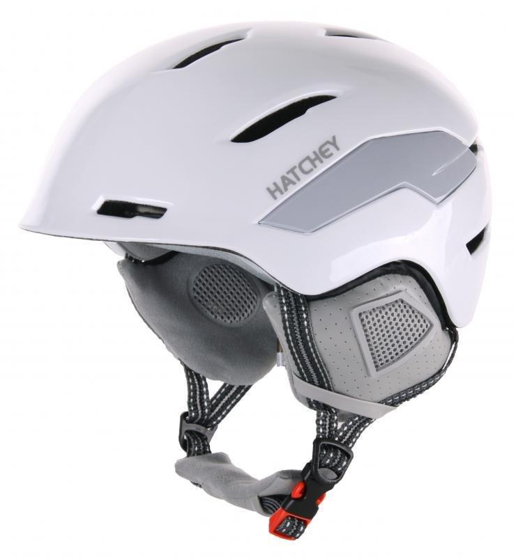 Bílá lyžařská helma Hatchey - velikost 56-60 cm