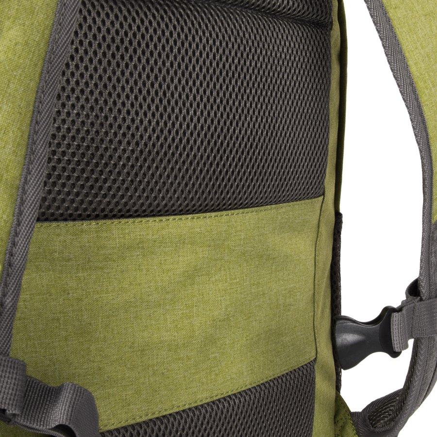 Batoh - Travelite Basics Backpack Melange Green/grey
