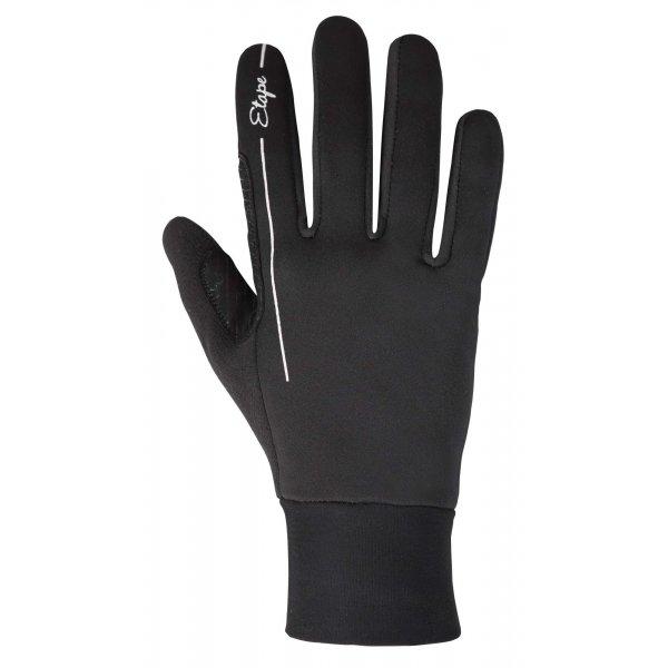 Černé dámské rukavice na běžky Etape