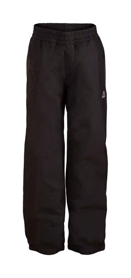 Černé dětské kalhoty Alpine Pro