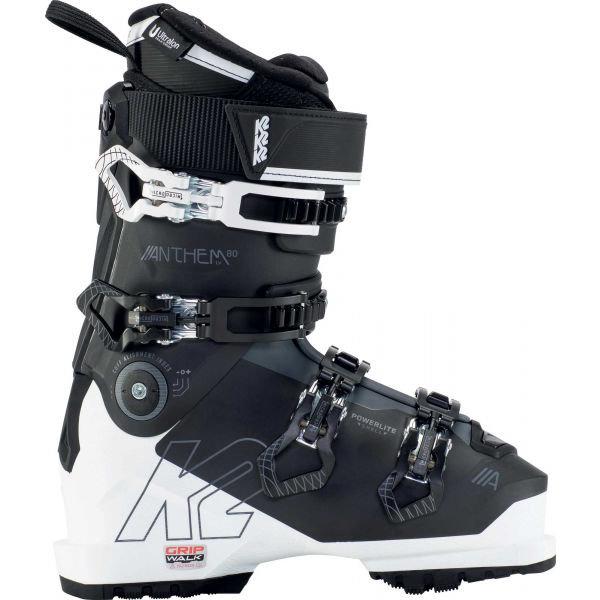 Bílo-černé dámské lyžařské boty K2