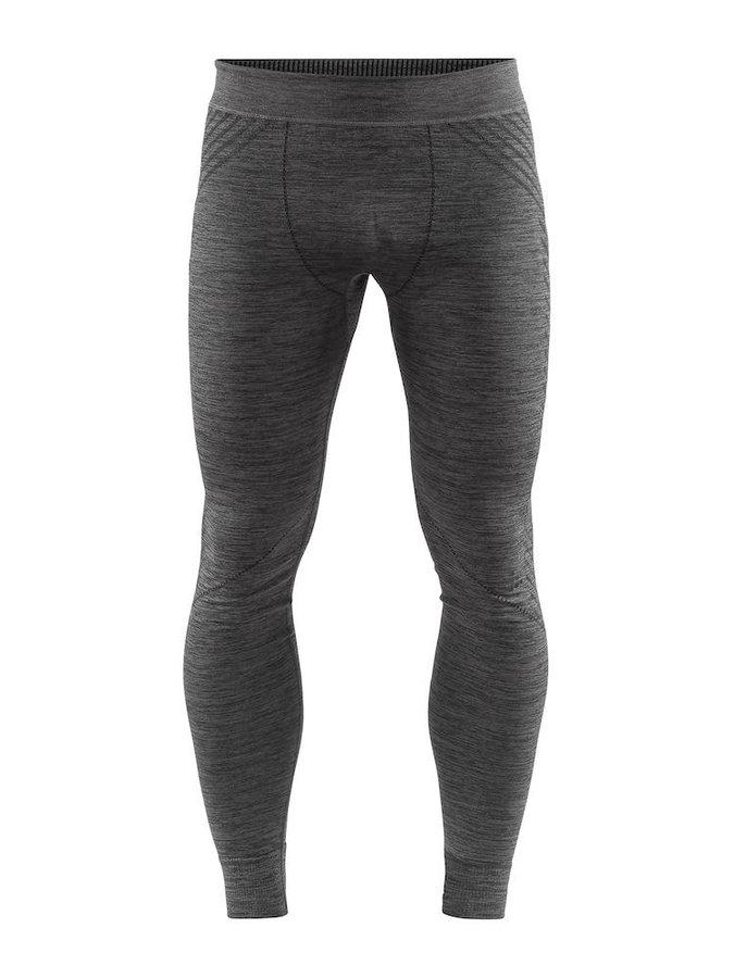 Šedé pánské funkční kalhoty Craft - velikost XXL