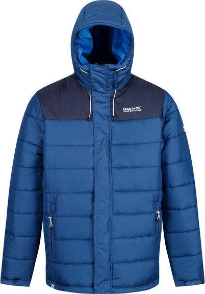 Modrá zimní pánská bunda s kapucí Regatta