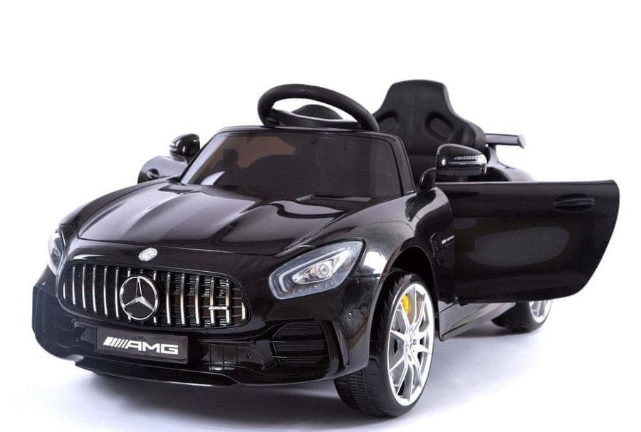 Černé dětské elektrické autíčko Mercedes-Benz GTR, Beneo